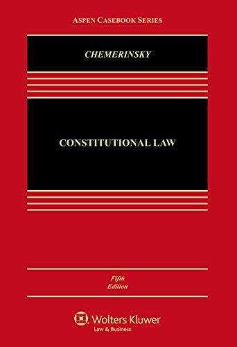 Constitutional Law: Connected Casebook  2016 9781454876472 Front Cover