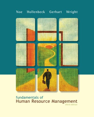 Fundamentals of Human Resource Management  3rd 2009 edition cover