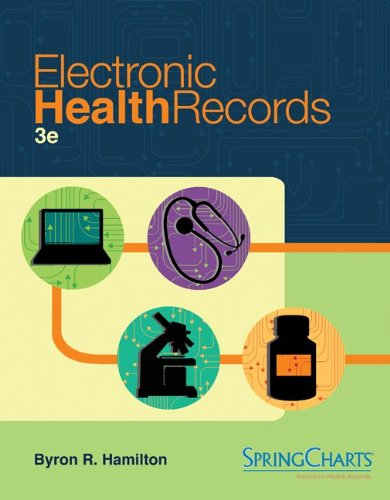 Electronic Health Records  3rd 2013 edition cover