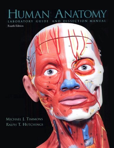 Human Anatomy Laboratory Guide and Dissection Manual  4th 2003 edition cover