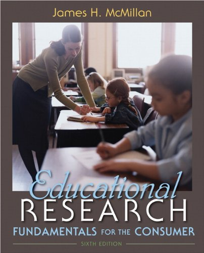 Educational Research Fundamentals for the Consumer 6th 2012 edition cover