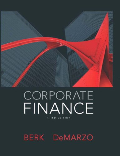 Corporate Finance:   2013 9780132992473 Front Cover