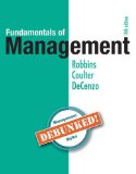 Fundamentals of Management: Essential Concepts and Applications  2016 9780134237473 Front Cover