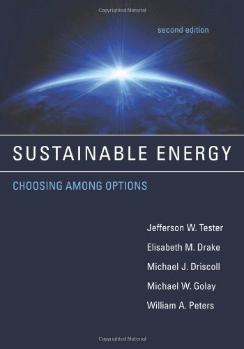 Sustainable Energy Choosing among Options 2nd 2012 edition cover