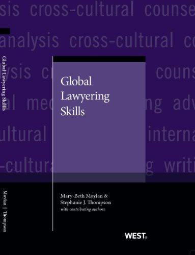 Global Lawyering Skills:   2013 edition cover