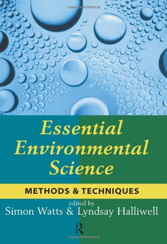 Essential Environmental Science Methods and Techniques  1996 edition cover