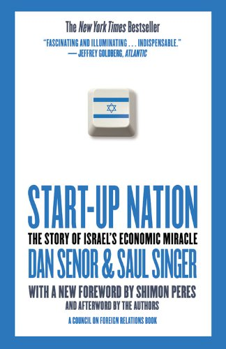 Start-Up Nation The Story of Israel's Economic Miracle  2011 edition cover