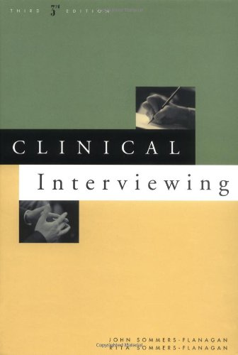 Clinical Interviewing  3rd 2003 (Revised) edition cover