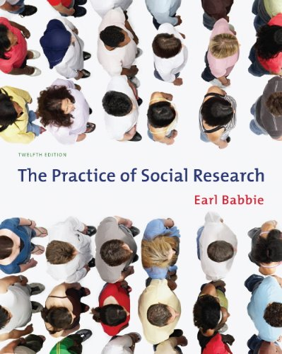 Guided Activities for Babbie's the Practice of Social Research  12th 2010 edition cover