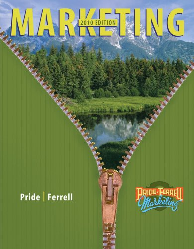 Marketing  15th 2010 edition cover
