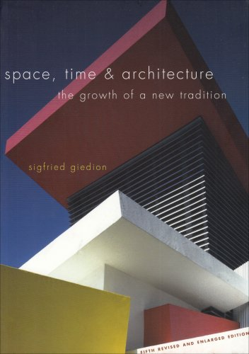 Space, Time and Architecture The Growth of a New Tradition 5th 1969 (Enlarged) edition cover