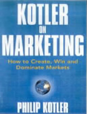 Kotler on Marketing N/A edition cover