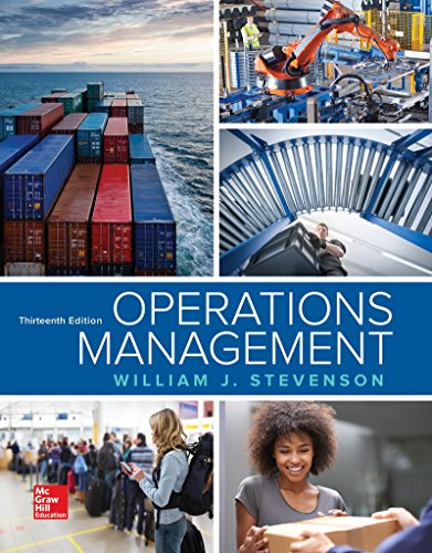 Operations Management:   2017 9781259667473 Front Cover