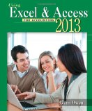 Using Microsoft Excel and Access 2013 for Accounting + Student Data Cd-rom:   2014 edition cover