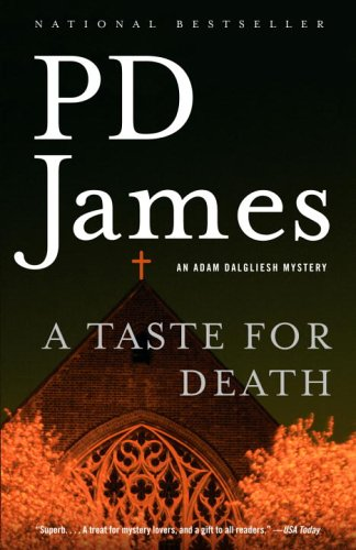 Taste for Death  N/A edition cover