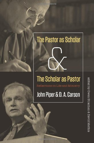 Pastor as Scholar and the Scholar as Pastor Reflections on Life and Ministry  2011 edition cover