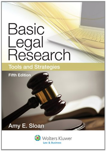 Basic Legal Research Tools and Strategies 5th 2012 (Revised) edition cover