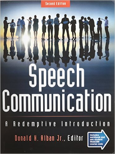 Speech Communication A Redemptive Introduction 2nd (Revised) edition cover