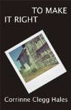 To Make It Right Poems N/A edition cover
