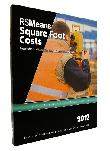 RSMeans Square Foot Costs 2012:  2011 edition cover
