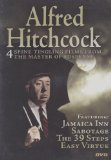 Alfred Hitchcock:Jamaica Inn, Sabotage, The 39 Steps, Easy Virtue System.Collections.Generic.List`1[System.String] artwork