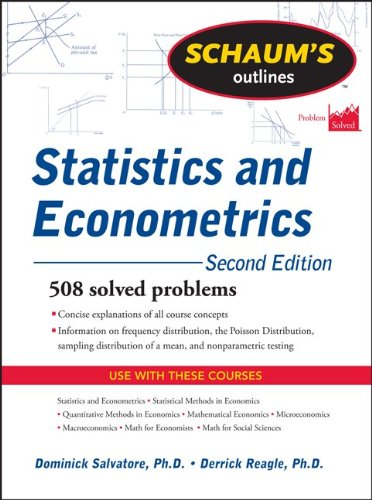 Statistics and Econometrics 508 Fully Solved Problems 2nd 2011 (Revised) edition cover