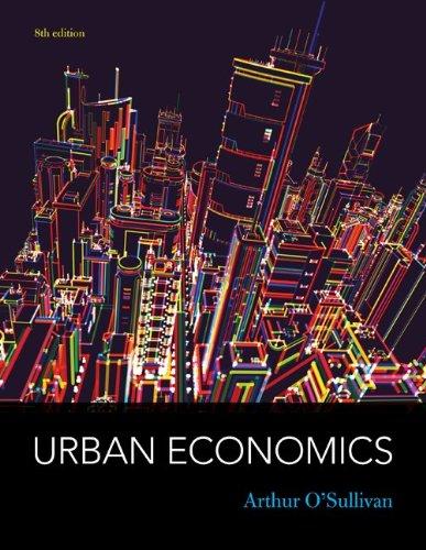 Urban Economics  8th 2012 edition cover