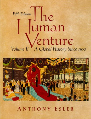 Human Venture A Global History since 1500 5th 2004 (Revised) edition cover