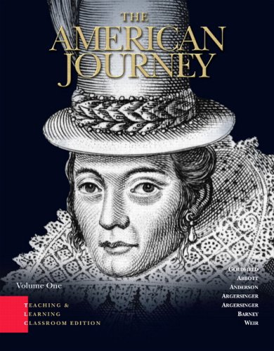 American Journey, TLC Edition  4th 2007 edition cover