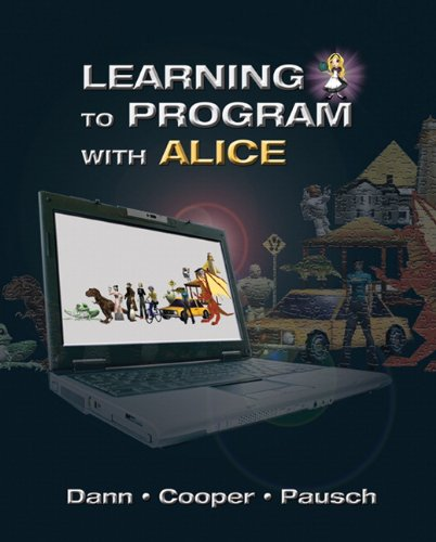 Learning to Program with Alice  3rd 2012 (Revised) edition cover