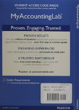NEW MyAccountingLab with Pearson EText -- Access Card -- for Cost Accounting  15th 2015 edition cover