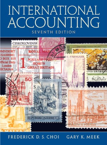 International Accounting  7th 2011 edition cover