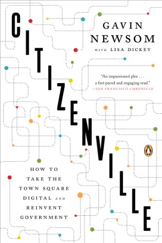 Citizenville How to Take the Town Square Digital and Reinvent Government N/A edition cover