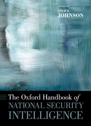Oxford Handbook of National Security Intelligence   2012 edition cover