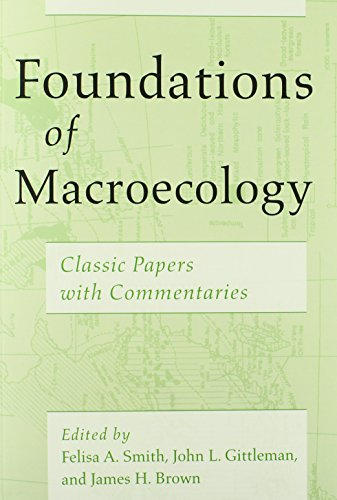 Foundations of Macroecology Classic Papers with Commentaries  2014 edition cover