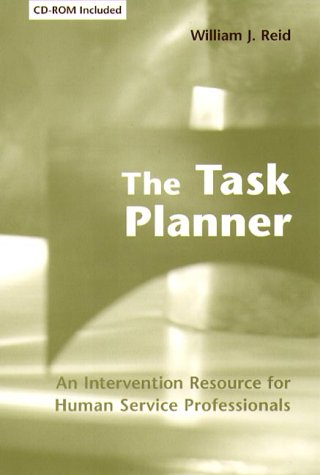 Task Planner An Intervention Resource for Human Service Professionals  2000 9780231106474 Front Cover