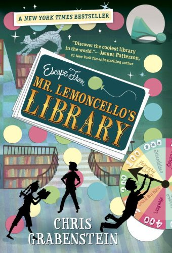Escape from Mr. Lemoncello's Library   2014 9780307931474 Front Cover