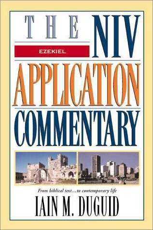 Niv Apppication Commentary Ezekiel   1999 edition cover