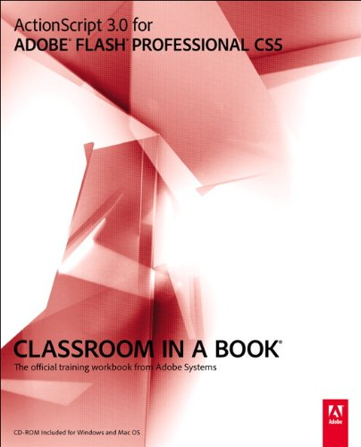 ActionScript 3. 0 for Adobe Flash Professional CS5   2010 edition cover
