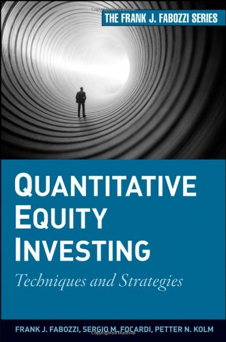 Quantitative Equity Investing Techniques and Strategies  2010 edition cover