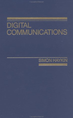 Digital Communications  1st 1988 edition cover