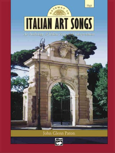 Gateway to Italian Songs and Arias High Voice  2004 edition cover
