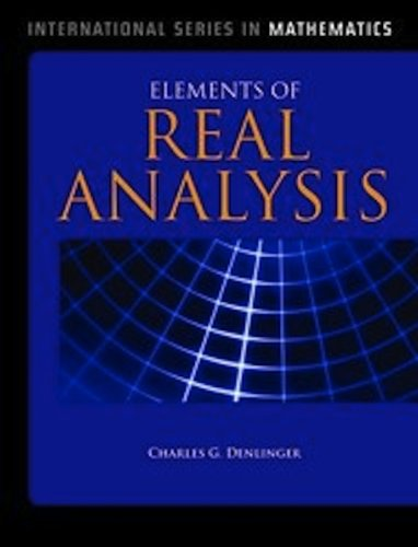 Elements of Real Analysis   2011 (Revised) edition cover