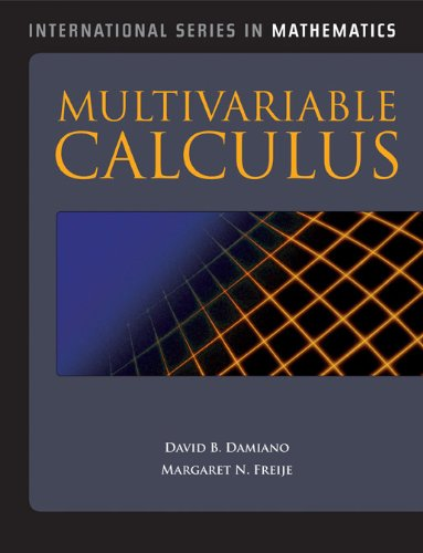 Multivariable Calculus   2012 (Revised) 9780763782474 Front Cover