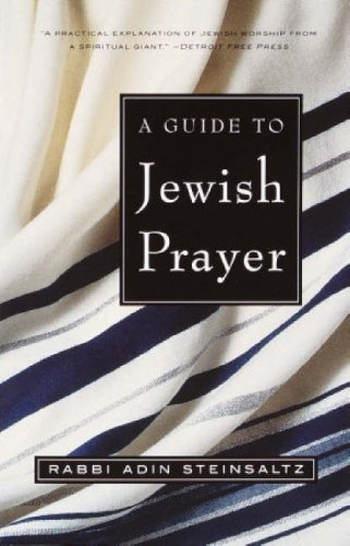 Guide to Jewish Prayer  N/A edition cover