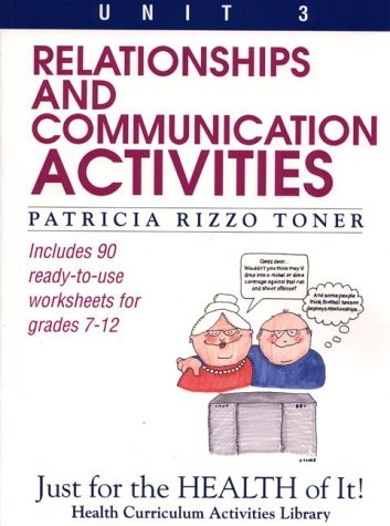 Relationships and Communication Activities, Grades 7-12   1993 (Teachers Edition, Instructors Manual, etc.) edition cover