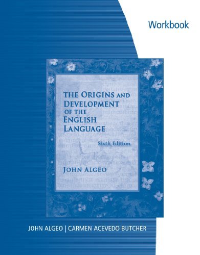 Problems in the Origins and Development of the English Language  6th 2010 (Workbook) edition cover