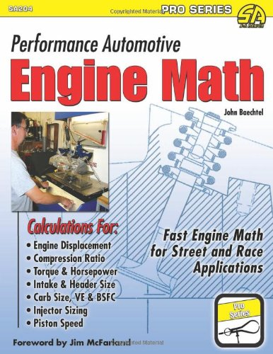 Performance Automotive Engine Math   2011 edition cover
