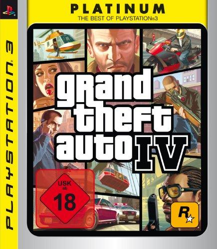 Grand Theft Auto IV - Uncut [Platinum] PlayStation 3 artwork