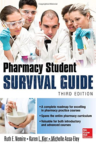 Pharmacy Student Survival Guide  3rd 2015 9780071828475 Front Cover